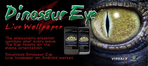 eye live dinosaur eye live wallpaper