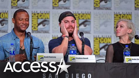 arrows stephen amell suffers panic attack mid interview