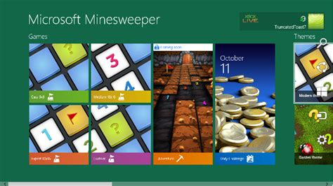 microsoft minesweeper themes all things apps windows 8 minesweeper