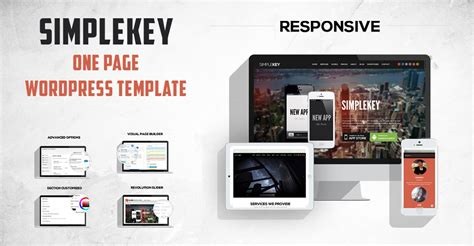 wordpress template for one page one page wordpress template