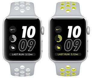 apple watch series 2 (nike+, 38 mm) specs (watch series 2