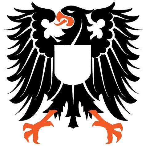 Tshirt Garuda Logo Black heraldic eagle free vector 123freevectors