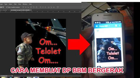 cara membuat gambar bergerak dengan photoshop cs6 cara membuat gambar bergerak om telolet om dengan
