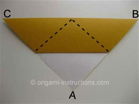 Origami Cat Ears - origami folding how to make an origami cat