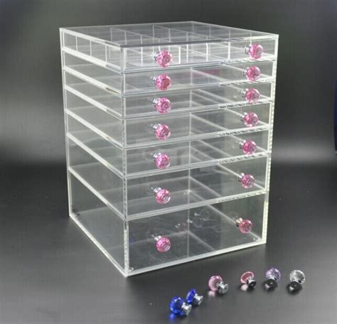 Cheap Acrylic Drawers by 7 Tiers Wholesale Acrylic Makeup Organizer With Drawe