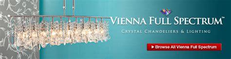 ls plus vienna full spectrum vienna full spectrum lighting crystal chandeliers