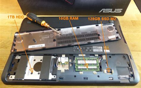 Asus Laptop Ssd Upgrade asus g551jw gaming notebook review gtx 960m 4gb gddr5 geeks3d