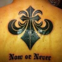 black ink fleur de lis on shoulder tattooimages biz blue fleue de lis on shoulder blade tattooimages biz
