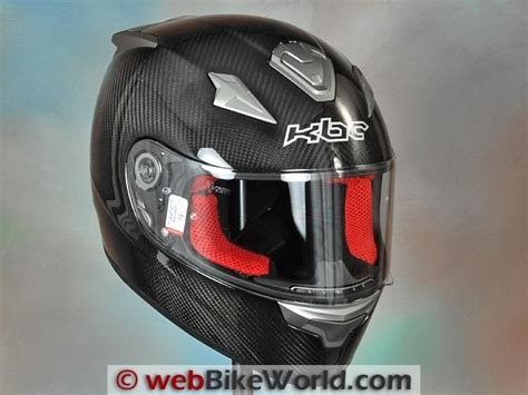 Helm Kbc Vr4r Kbc Vr4r Carbon Fiber Helmet Review Webbikeworld