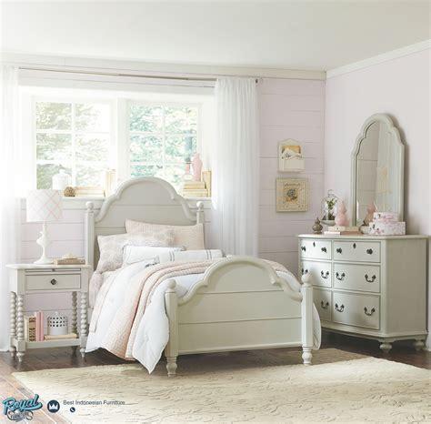 Dipan Anak Anak Classic Furniture Jepara set kamar tidur anak modern putih terbaru juvenile royal furniture indonesia