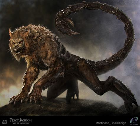 creatures greek mythology manticore mythology sea of monsters creature