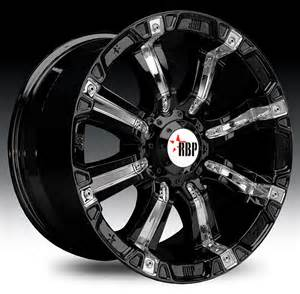 Truck Wheels Big W Rolling Big Power Dodge Ram 94r Style Black Wheel With
