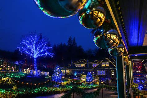 butchart gardens holiday lights the magic of christmas season at the butchart gardens