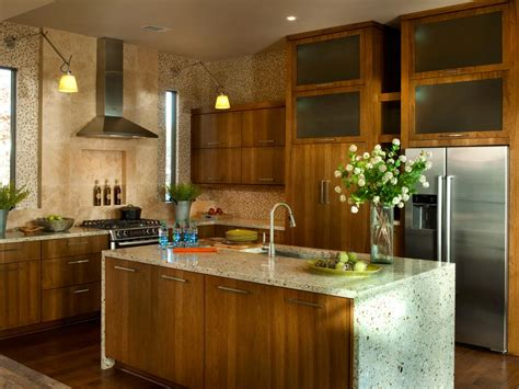 green home kitchen design rustic kitchen islands pictures ideas tips from hgtv