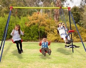 swing sets online australia kingsford 3 station metal swing set auction 0003 1200555
