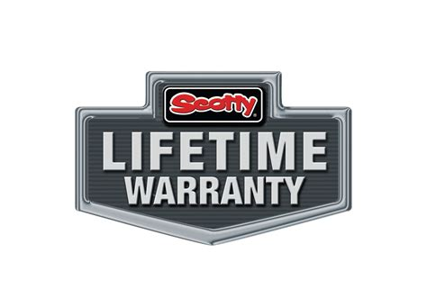 lifetime warranty logo scotty fishing products may 2013