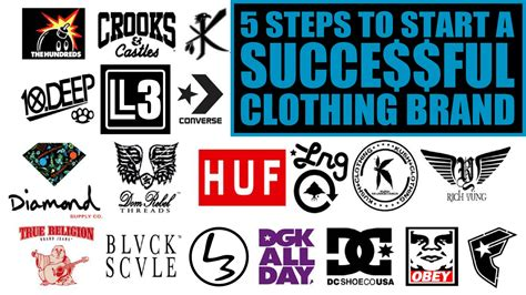 Brand Clothing An how to start a clothing brand 5 steps