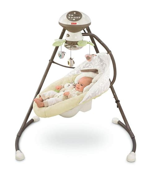 fisher price baby swings that plug in swing for fussy newborn classy baby gear