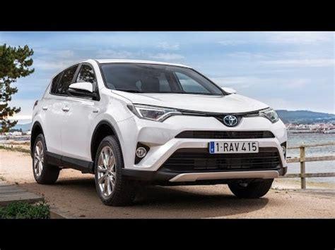 2016 toyota rav4 hybrid eu version review rendered price