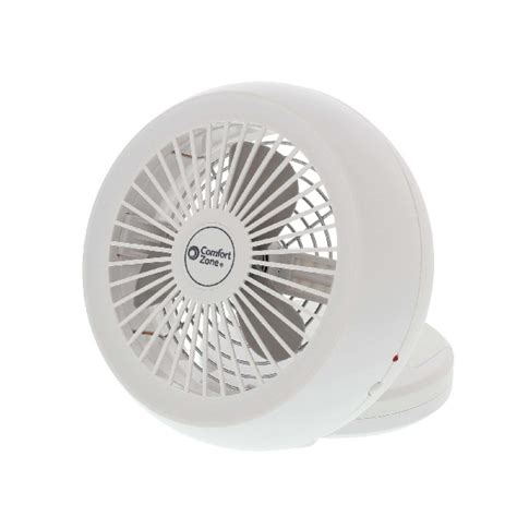 comfort zone desk fan comfort zone battery usb portable desk fan my cooling store