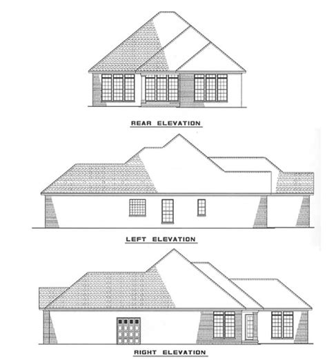 french country house plans home design storybook elev plan small french country house plans home design ndg 282