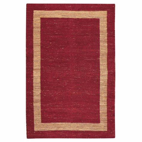 home decorators collection rugs home decorators collection boundary red 7 ft x 9 ft area