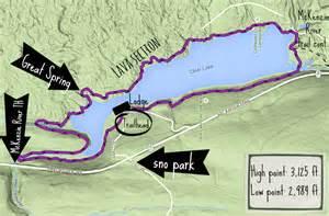 clear lake hike oregon