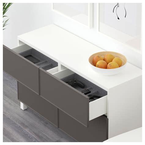 ikea besta storage combination with doors and drawers best 197 storage combination w doors drawers white
