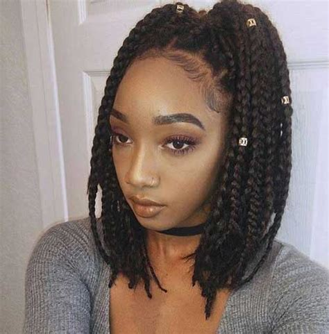 pictures of fine box braid hairstyles for black women best box braids hairstyles for black women african