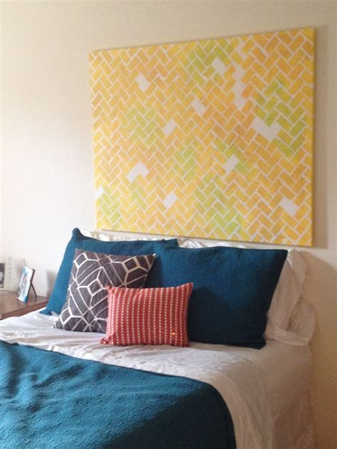 headboard canvas best 25 canvas headboard ideas on pinterest