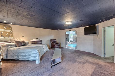trek bedroom home breaks tradition with indoor pool and trek doors photos las vegas review
