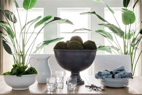 centro de mesa de comedor moderno decoracion mesas de comedor para espacios elegantes