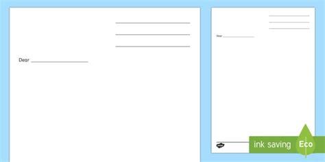 letter writing template blank letter templates letter