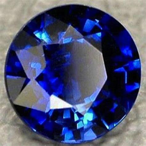 Blue Sapphire Corundum lab created synthetic blue sapphire corundum