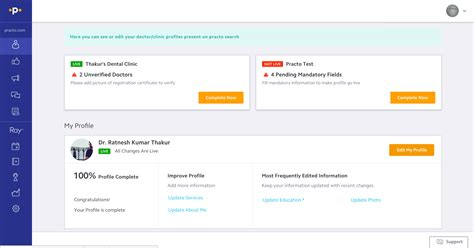 Find Profiles Of Editing Your Practo Profile Practo Help