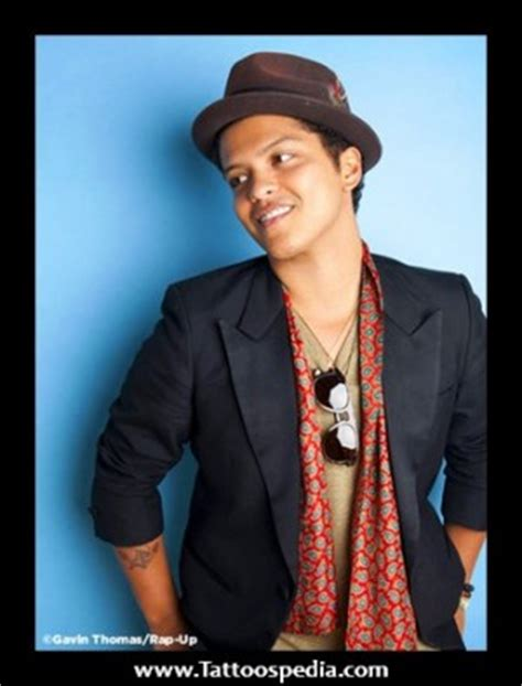 bruno mars tattoos bruno mars quotes tattoos quotesgram