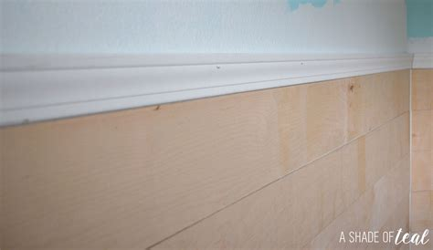 How Do You Install Shiplap How To Install Faux Shiplap A Shade Of Teal