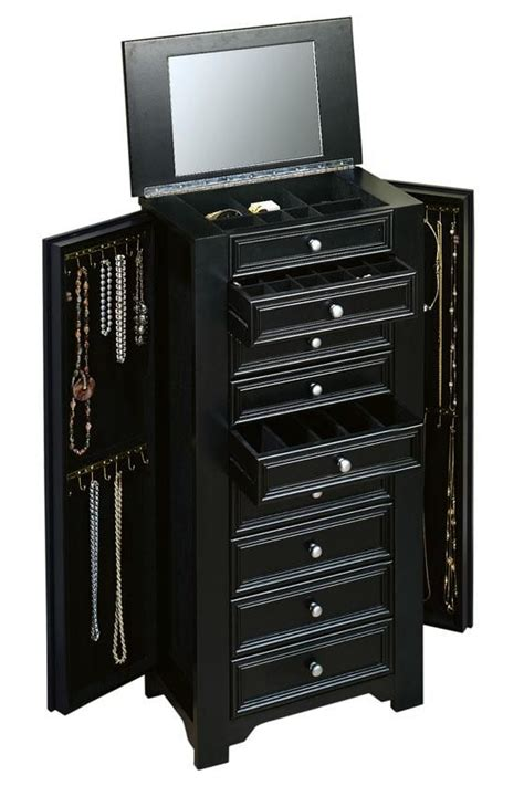 jewellery armoire cabinet 1000 ideas about jewelry armoire on pinterest mirror