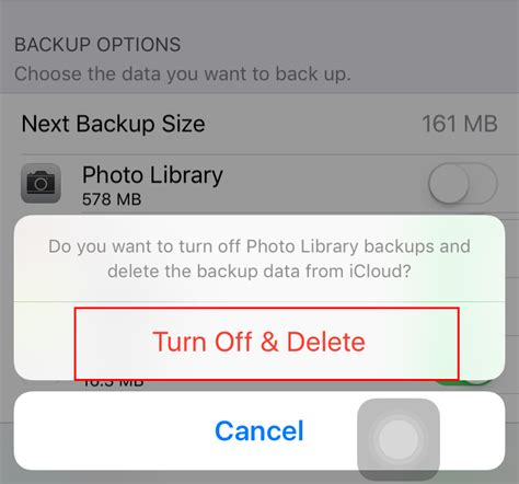 how to make room for icloud backup how to delete icloud backup to free up storage