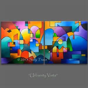 Nautical Wall Murals original painting abstract painting acrylic painting