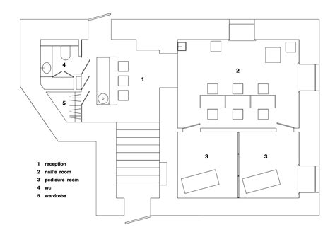Floor Plan Layout Online gallery of beauty parlour crosby studios 27
