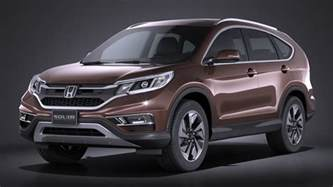 Honda Cr Models 3d Model Honda Cr V 2016