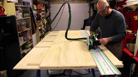 Using A Track Saw To Process Sheet Goods By Mike Sloggatt