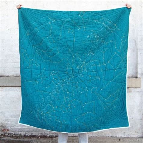 snuggle up the with the constellation quilt