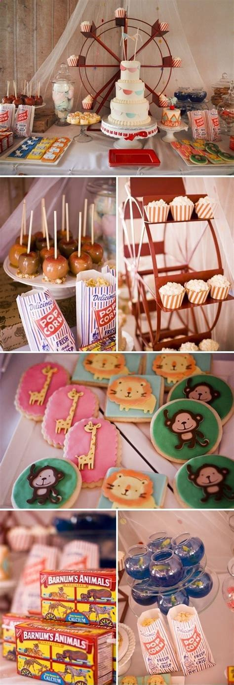 carnival themes for baby showers vintage circus baby shower theme baby shower ideas