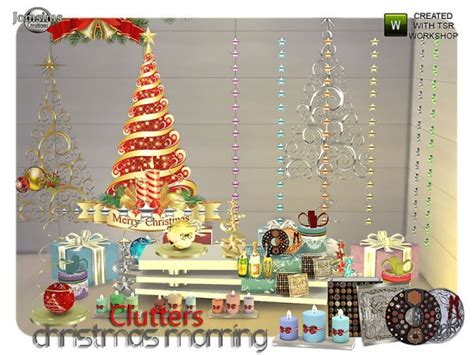 sims 3 christmas decor cc the sims resource morning clutters sims 4 downloads