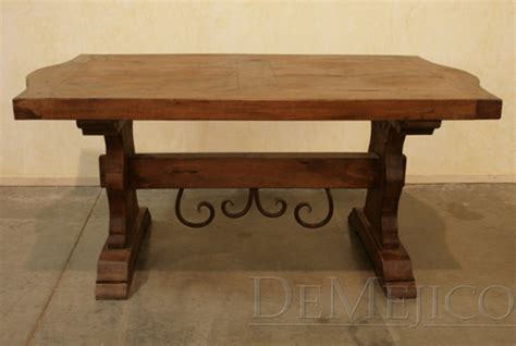 Hacienda Dining Table Hacienda Dining Table Bench Demejico