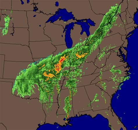 eastern united states weather map november 30th december 1st winter 2006