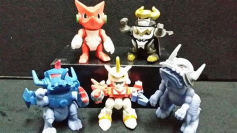 Bandai Digimon Fusion Shoutmon X4 bandai gashapon digimon xros wars shoutmon x4