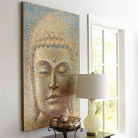 buddha inspired bedroom let our impressionist inspired profound buddha art make a